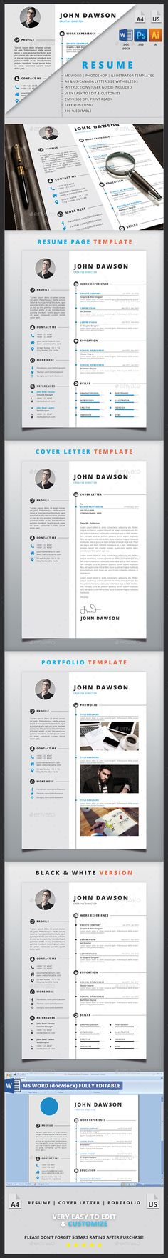 Resume  Cv Template Free Cover Letter And Resume Cv