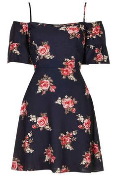 Frill Floral Dress by Band of Gypsies