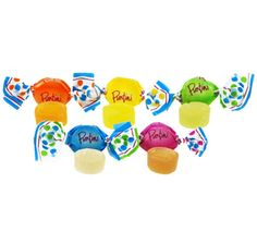 Chipurnoi Tropical Fruit Puntini Candy: 1600-Piece Bag