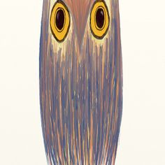 The Odd Owl by OneArtsyMomma @Redbubble