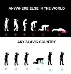 Proud to be slav. Stupid Funny Memes, Funny Relatable Memes, Haha Funny, Hilarious, Military Jokes, Russian Humor, History Memes, Funny People, Really Funny