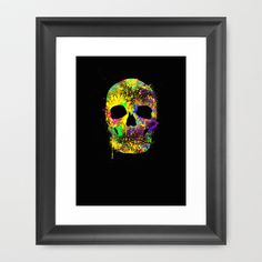 Beautiful framed art print !  http://society6.com/product/death-can-be-cool-too_framed-print#12=60&13=54