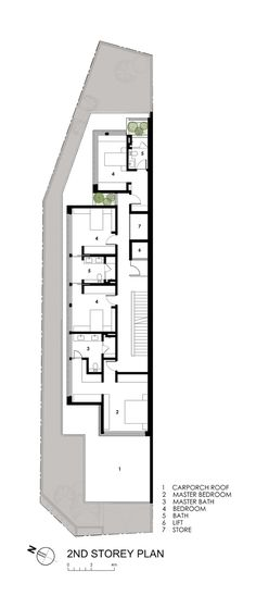 ideas about Narrow House on Pinterest   Narrow House Plans    Jazzy Airy Residence Exposing Updated Design  Wide Sunny Side House Second Floor Design Plan With Master Bedroom  Cozy Bathroom And Unique S