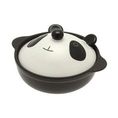Please let me find this somewhere...too cute.  Panda Bear Casserole Dish.