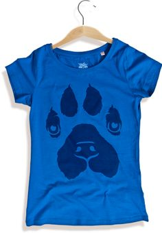 """Rescue dog (girls) tshirt. The money from that tshirt goes to an animal shelter in Sofia, Bulgaria called """"Animal Rescue Sofia"""".  #tshirt #dogs #cats #payitforward #donation"""