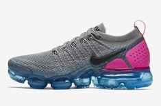 8955a82418fea Nike Air VaporMax 2 Gunsmkoke Blue Orbit Pink Blast 942843-004 New Nike Air