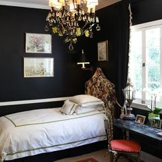 apartment therapy - home tour of lighting designer: love that chandelier