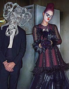 Editorial de moda con estilismo de Edward Enninful y fotografía de #StevenKlein | www.stylefeelfree.com