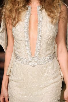 Galia Lahav Spring 2016... More beautiful details to recreate for that ultimate bridal look.Take these details & adjust to fit your style.