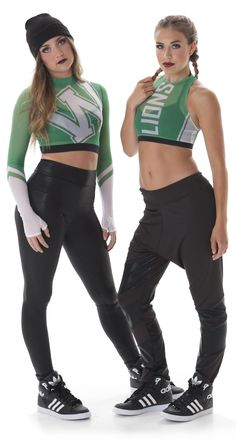 Take your dance team's gameday look and restyle it for a hip hop routing! Check out the full list of Top 9 Hip Hop Dance Costume Trends on the blog!