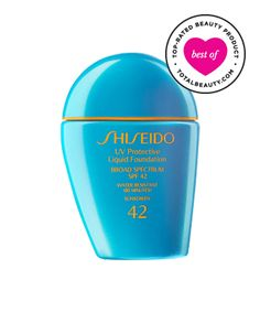 Best Foundation No. 8: Shiseido Sun Protection Liquid Foundation SPF 42, $36