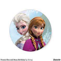 Frozen Elsa and Anna Birthday