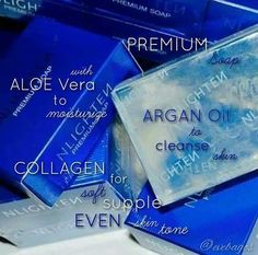 Nlighten Premium soap 135g  3 in 1 moisturizing soap  Collagen  Argan Oil  Aloe Vera  anti-aging effect  scars & stretchmarks  young beautiful skin  soft supple and even skin  Effortless beauty  No harsh chemicals  For orders/ more information:  CP/Viber: 63988967563  Instagram: nlighten_beautycare  Follow me on Twitter:@Rachel_nworld  Facebook :http://ift.tt/1YRRvDR  Facebook Page: http://ift.tt/1TmBu4d (No calls please)