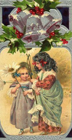 Christmas Postcard, ca. early 1900s