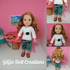 Handmade Doll Clothes fits 14.5 inch dolls by GiGisDollCreations