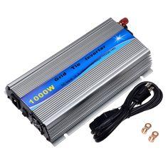 1000W Inverter 18V Panel / 36cells Grid Tie Inverter DC18V to AC110V Pure Sine Wave Inverter Power With MPPT Function #Affiliate