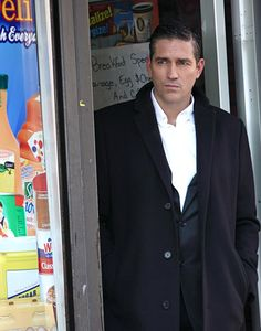 Jim Caviezel (Person of Interest, CBS) Ok, maybe not cute but pretty hot!  Or just plain freaking gorgeous!!!