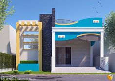 Building full plan House Outer Design, House Front Wall Design, Single Floor House Design, House Outside Design, Main Door Design, Bungalow House Design, Modern House Design, Duplex House, House Elevation