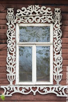 Wooden Window Frames, Wooden Windows, Arched Windows, Old Windows, Windows And Doors, Russian Architecture, Architecture Details, Old Shutters, Repurposed Shutters