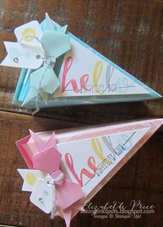 Seeing Ink Spots: Perfectly Artistic His and Hers (Cake Box) Cake Slice Boxes, Box Cake, Handmade Greetings, Greeting Cards Handmade, 3d Paper Crafts, Paper Cake, Pretty Packaging, Party Favors, Favours