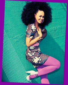 Elle Varner has a style of her own and makes NO apologies for it. Love her confidence!