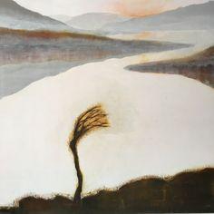 Original Landscape Painting by Margaret Roberts Irish Landscape, Landscape Art, Connemara, Abstract, Gallery, Winter, Artwork, Landscapes, Paintings