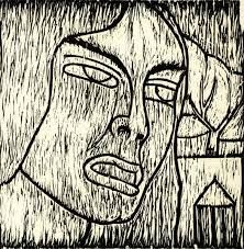 Rufino Tamayo - Woodcut