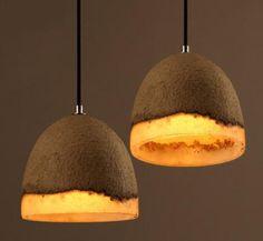 art decor creative  cement Light vintage lampe ciment luminaria pendente Light Fixtures For Restaurants dining room B06 #Affiliate