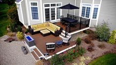 Multi Level Deck Ideas Amazing Multi Level Deck Design 8 Best Two Level Deck Ideas On Deck Design Tiered Deck And Patio Ideas For Summer Multi Level Above Ground Pool Deck Plans Two Level Deck, Ground Level Deck, 2 Level Deck Ideas, Patio Design, Exterior Design, Garden Design, Trex Composite Decking, Composite Flooring, Pool Deck Plans
