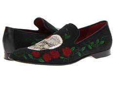 Donald J Pliner Pascow Roses/Skull Beads -
