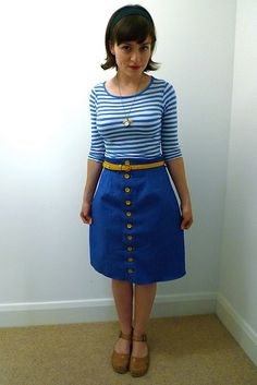 Beignet skirt  Tilly and the Buttons: Banana Sweetie Skirt