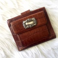 | Brighton | Wallet Brighton wallet with plenty of card room and two slots for cash. Brighton Bags Wallets