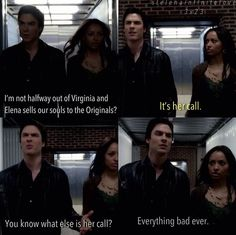 Bonnie & Damon ♥ Bamon The Originals 3, Vampire Diaries The Originals, Damon And Bonnie, Original Vampire, Delena, New Love, My Heart Is Breaking, Pretty Little Liars, Greys Anatomy