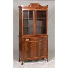 Image result for hepplewhite china cabinet