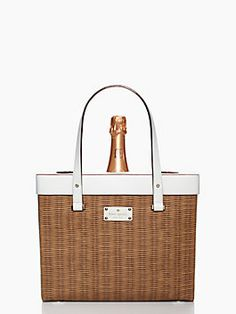 pack a picnic champagne tote. how did I not think of this?