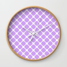 """Available in natural wood, black or white frames, our 10"""" diameter unique Wall Clocks feature a high-impact plexiglass crystal face and a backside hook for easy hanging. Choose black or white hands to match your wall clock frame and art design choice. Clock sits 1.75"""" deep and requires 1 AA battery (not included).  @society6 #art #abstract #fashion #style #chic #contemporary #modern #pattern #design #color #women #men #shop #shopping #buy #sale #wall #clock #time #home #decor #office #space"""