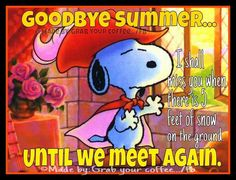 Until We Meet Again autumn fall autumn pictures autumn quotes happy fall hello fall fall pictures fall images goodbye summer hello fall snoopy fall quotes Peanuts Cartoon, Peanuts Snoopy, Snoopy Love, Snoopy And Woodstock, Snoopy Quotes, Peanuts Quotes, Fun Quotes, Peanuts Characters, Cartoon Characters