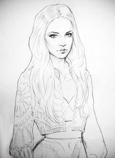 Sketchbook Rips, Fashion Illustration 2011 on Behance