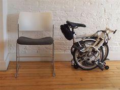 Andrew Ritchie / 1977 / Brompton Folding Bike