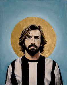 L'artiste suisse David Diehl a créé une série de portraits des plus grands joueurs de la planète, peints comme les icônes religieuses qu'ils sont pour la plupart.