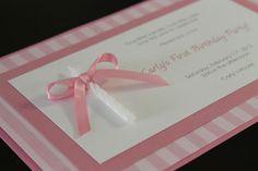 Super Sweet 1st Birthday Handmade by EasyMadeInvitations on Etsy, $2.40
