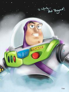 Buzz Lightyear by NikiVandermosten.deviantart.com on @deviantART