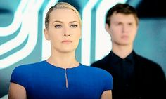 Janine (Leader of erudite) and Caleb