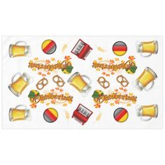 Shop Oktoberfest Tablecover Tablecloth created by sharonrhea. Oktoberfest Outfit, Oktoberfest Clothing, The Perfect Touch, Table Covers, Nespresso, Color Pop, Create Your Own, How To Make, Prints