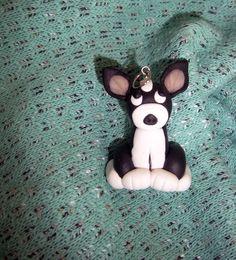 Cute Dog Fimo Polymer Clay