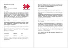Template for a Chronological CV. A chronological CV organises its content according to a historical timeline. Employers like them because they can see very easily what your work history and career progression has been.  If you have had several jobs, career breaks or gaps between jobs the functional CV template might be better for you.