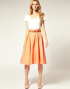 I think I need a midi-length skirt now that I am going to be in big girl school!