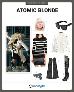 Image result for atomic blonde clothing