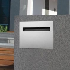 Palazzo Stainless Steel Brick in Letterbox