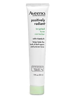 pairing unfermented soy with retinol makes this spot treatment ideal for fading brown patches - AVEENO targeted tone corrector. The Ultimate Anti-Aging Routine You Can Buy at the Drugstore